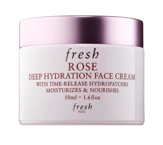 Fresh Rose & Hyaluronic Acid Deep Hydration Moisturizer